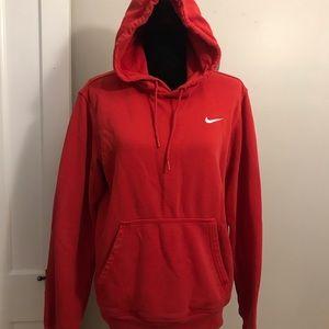 Red Nike hoodie!
